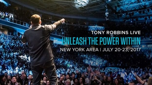 Tony Robbins Unleash the Power Within July 20-23 2017