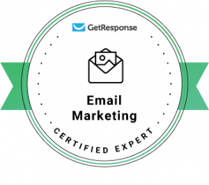 GetResponse Email Marketing Certified Expert